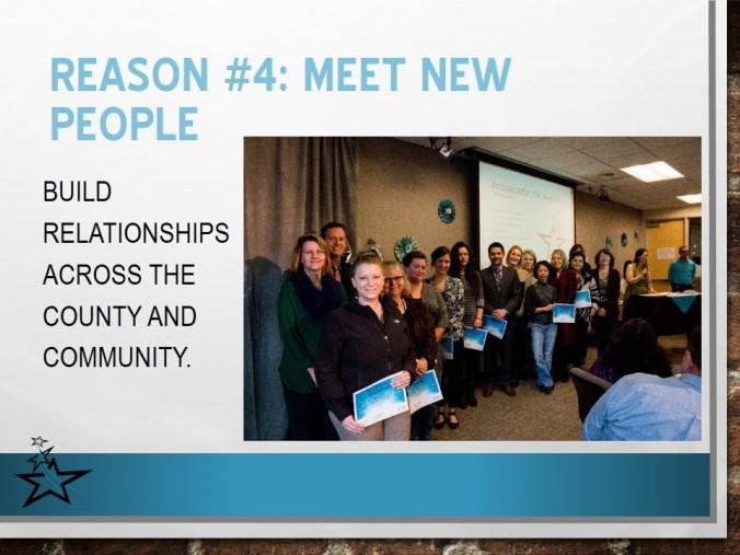 Reason #4: Meet New People