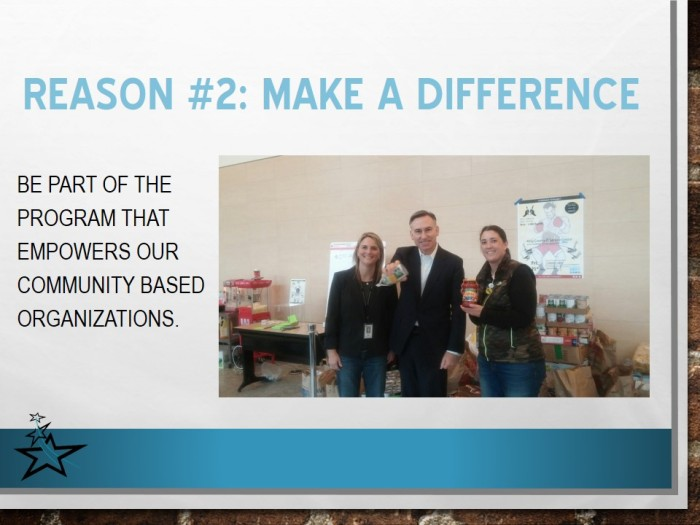 Reason  #2: Make a difference